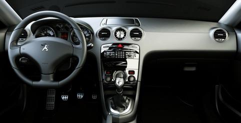 Photo de la Peugeot 308 RC Z Concept: design Intérieur