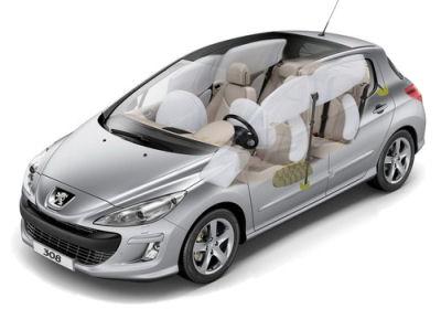 Photo de la Peugeot 308 berline: dessins d'artiste