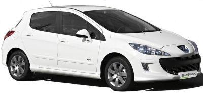Pr�sentation de la Peugeot 308 Bioflex, une version flexfuel de la Peugeot 308 qui roule indiff�remment au SP 95 - E10 ou � l'E85 (85% d'�thanol). Bas�e sur un 1.6L 1V de 110 ch.